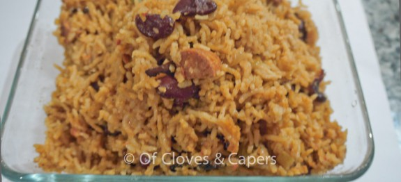 Chorizo and Bean Paella