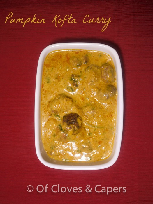 Pumpkin Kofta Curry – Of Cloves & Capers