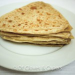 Triangular paratha