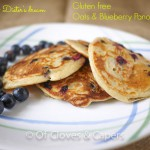 Oats and blueberry Pancakes
