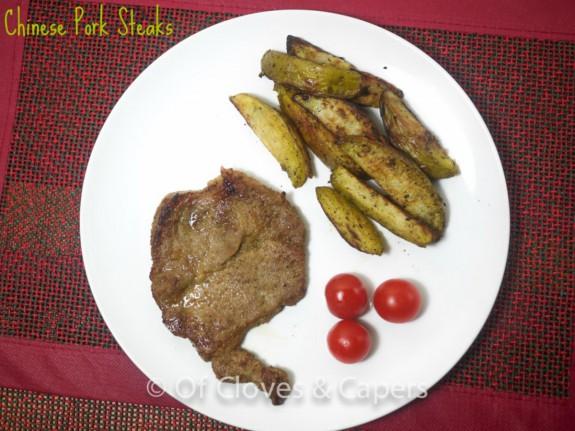 chin Pork Steak