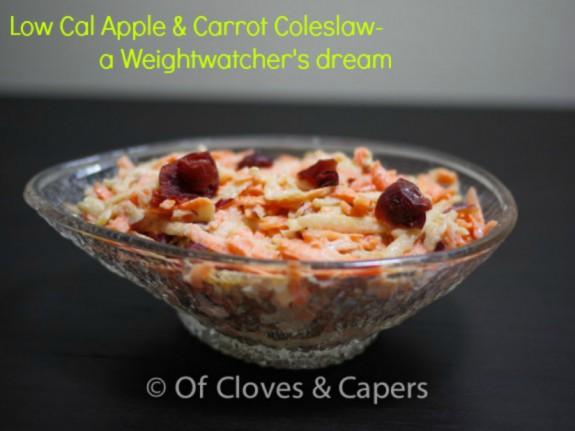 Apple&carrotcoleslaw